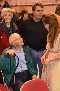Chatting with Grandpa & Grandma Ortman