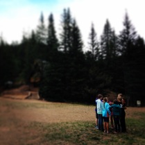 My cabin, getting along! #Counselormoment