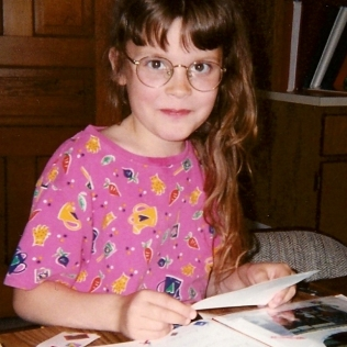 Just scrapbooking at age 10. Ya know.