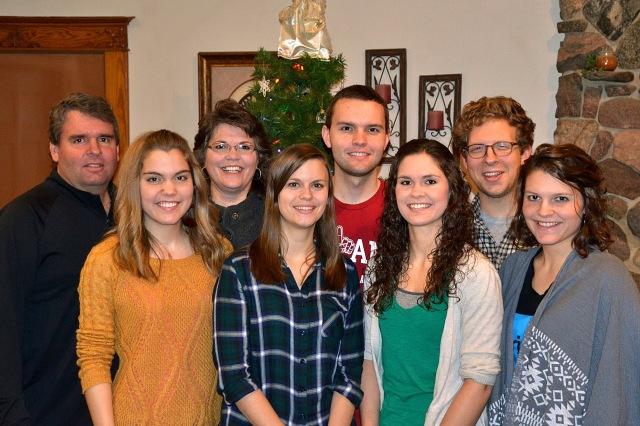 Family Christmas pics